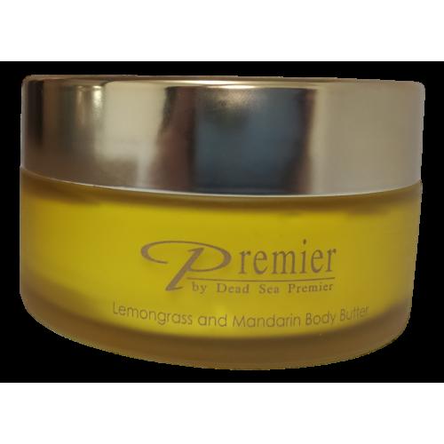 Dead Sea Premier Body Butter Lemongrass & Mandarin