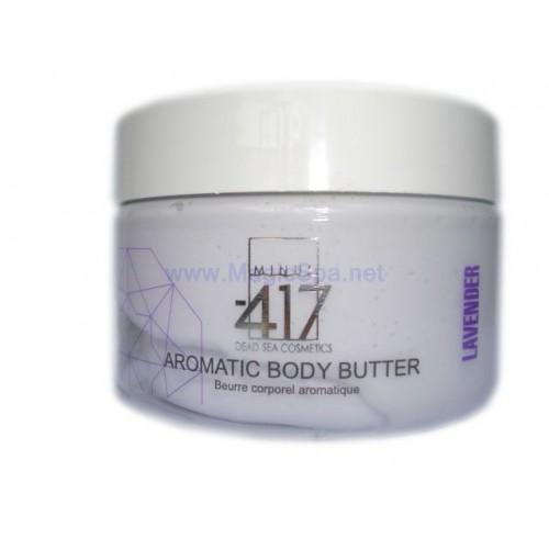 Minus 417 Dead Sea Cosmetics - Mantequilla Aromática Corporal-Lavanda