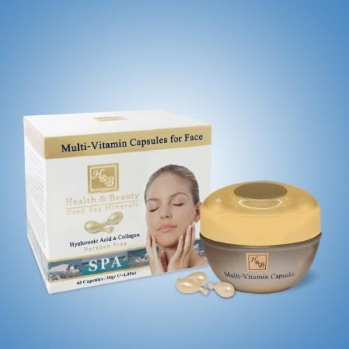 H&B Cápsulas Multi-Vitaminas para la cara