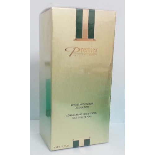 Premier Dead Sea Supreme Lifting Neck Serum Todos los tipos de piel 50ml