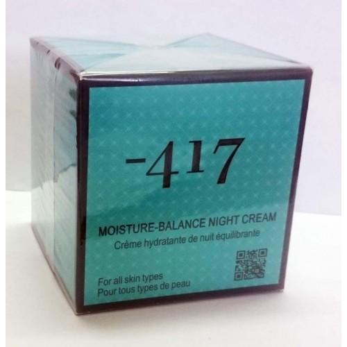 Minus 417 Dead Sea Cosmetics - Moisture - Crema Noche Balance