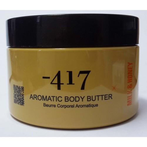 Minus 417 Dead Sea Cosmetics - Mantequilla Aromática para Cuerpo-Leche y Miel