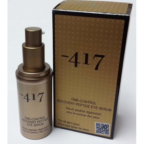 Minus-417 Dead Sea Cosmetics - Suero del ojo del péptido de la recuperación