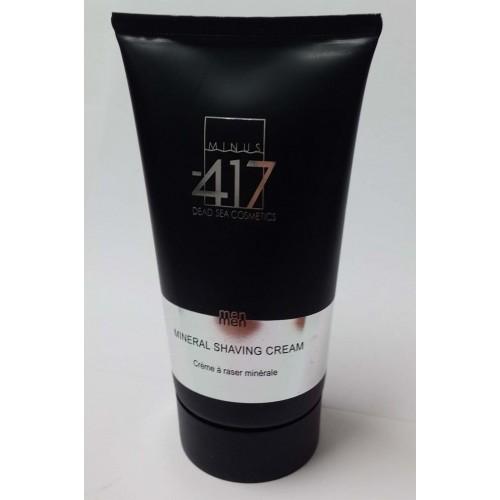Minus 417 Dead Sea Cosmetics - Crema de afeitar mineral para los hombres
