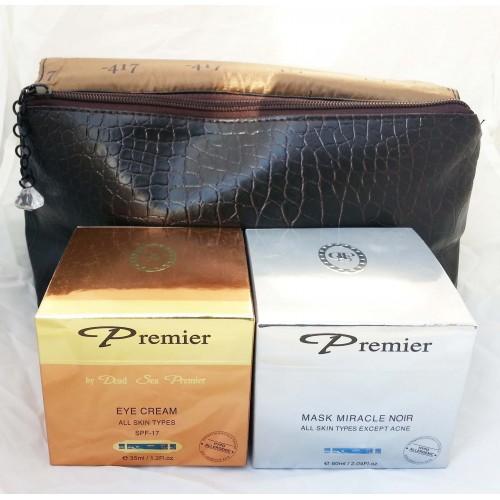 Dead Sea Premier Kit: Crema Ojos, Máscara Milagro