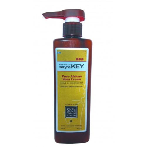 Saryna Key La Reparación del daño a Dejar en la crema Hidratante para el Cabello Seco 500ml