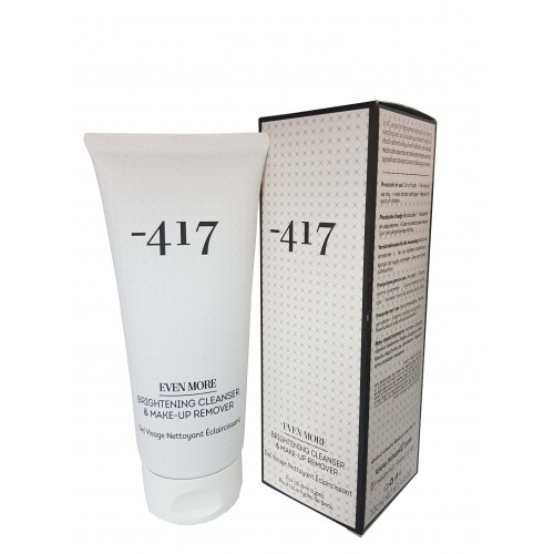 Minus - 417 Dead Sea Cosmetics Brightening Cleanser & Make-Up Remover 200ml